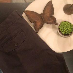 Banana Republic Brown Slacks Trousers Stretch 8
